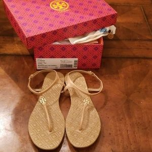Tory Burch Shoes - Tory Burch Marion Sandals Sand